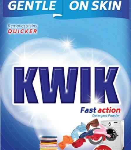 KWIK detergent powder